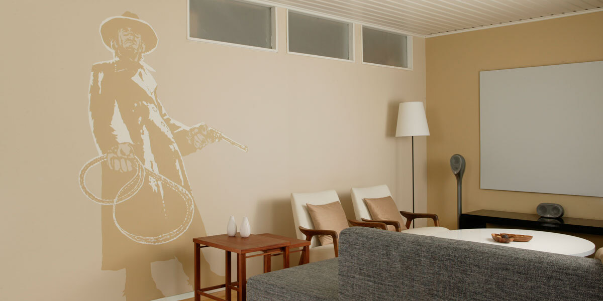 projection surface by Harmony painting
