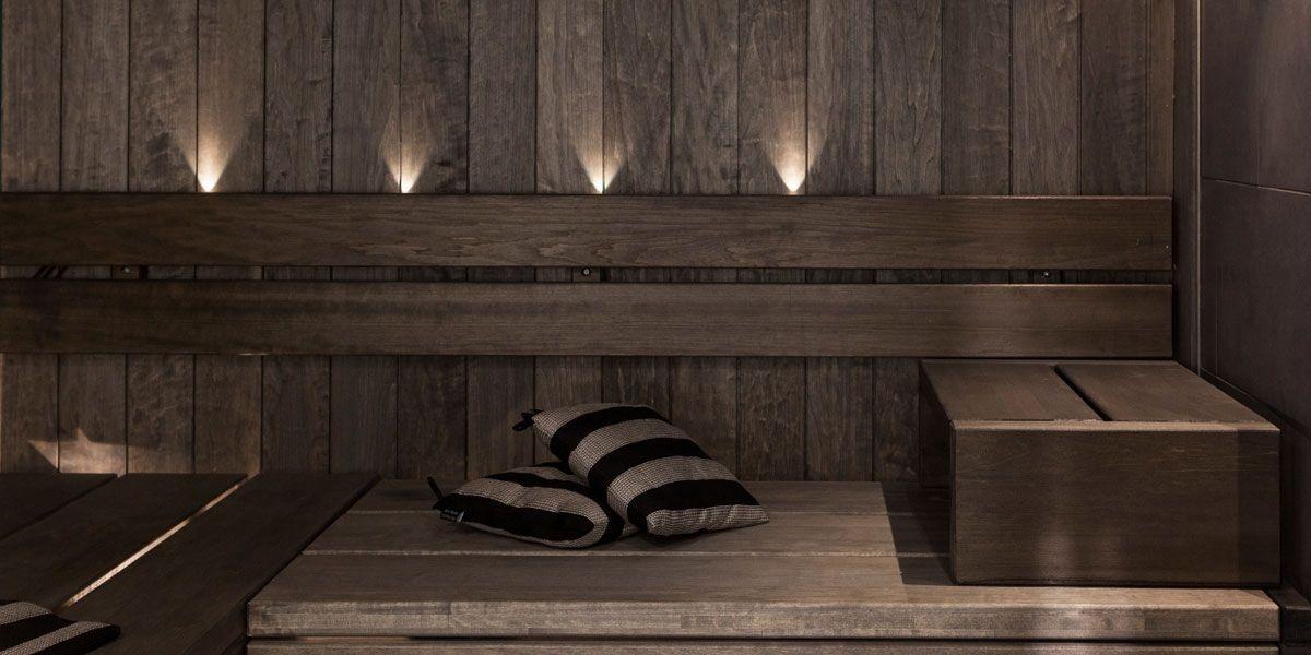 protected sauna paneling